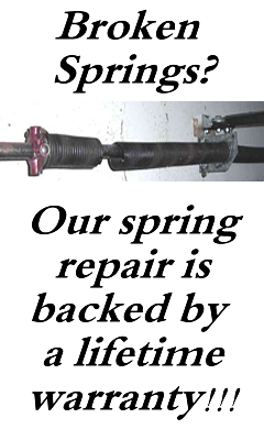 Garage door spring repair in las vegas nevada